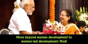 Move beyond women development to women-led development: Modi at National Conference of Women