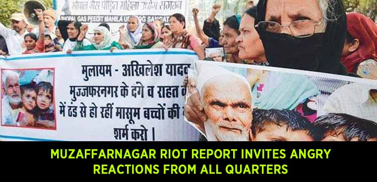 Muzaffarnagar-riot-report-invites-angry-reactions-from-all-quarters