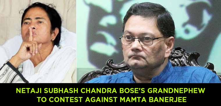 Netaji-Subhash-Chandra-Bose's-grandnephew-to-contest-against-Mamta-Banerjee
