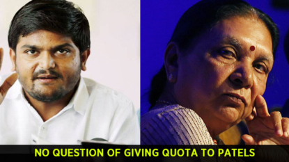 No question of giving quota to Patels, says Gujarat minister
