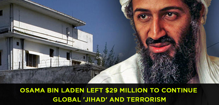 Osama Bin Laden Left $29 Million to Continue Global 'Jihad' and terrorism