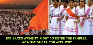 RSS-backs-women-right-to-enter-the-temples,-against-quota-for-affluent