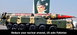 Reduce your nuclear arsenal, US asks Pakistan