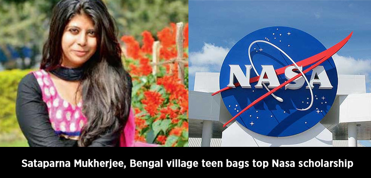 Sataparna Mukherjee, Bengal village teen bags top Nasa scholarship