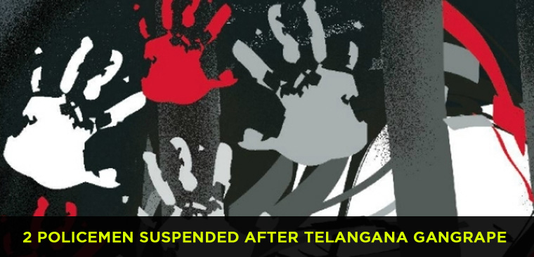 Two policemen suspended after Telangana gangrape case