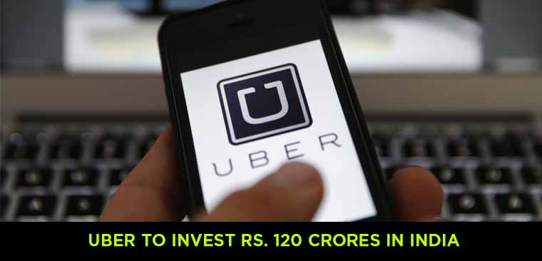 Uber-to-Invest-Rs.-120-Crores-in-India