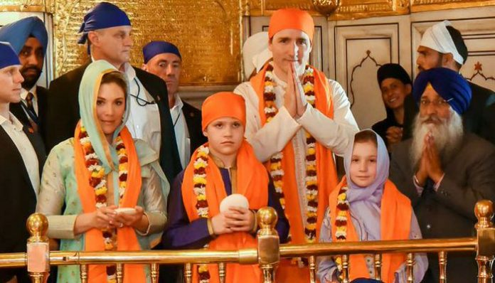 Golden-Temple Canadian PM