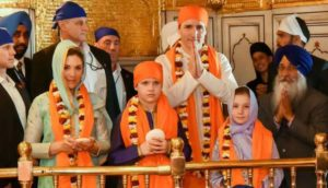 Justin Trudeau Golden-Temple