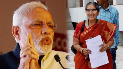 You can ask Modi ji if he spoke to his wife or not says her brother Ashok
