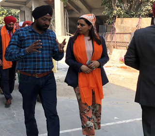 MP Ruby Sahota Visits India with Prime Minister Trudeau